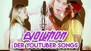 Download Evolution von YOUTUBER SONGS (Deutschland 2007-2018) Video