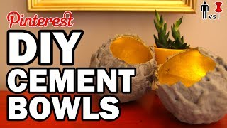 Download DIY Cement Bowls - Man Vs Pin - 4 YEARS!!! Video