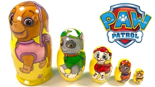 Download Paw Patrol Toy Nesting Dolls Stacking Cups Video