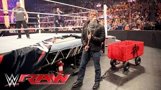 Download Dean Ambrose interrupts Brock Lesnar & Paul Heyman to pick some 'Mania essentials: Raw, Mar 28, 2016 Video