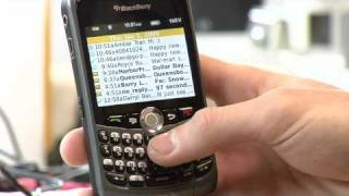 Download Cell Phones Tips : How to Send SMS Messages on a Blackberry Video