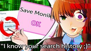 Download she's INFECTED my computer! I BRING BACK MONIKA 😱 - Doki Doki Literature Club: Monika After Story Video