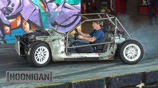 Download [HOONIGAN] DT 201: $200 Miata Kart Build [Part 8] - Muff and Man-Line Video