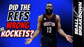 Download Did The Refs Wrong The Rockets? Video