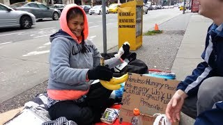 Download Making the Homeless Smile Video