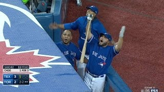 Download TEX@TOR Gm5: Wild 7th inning at Rogers Centre Video