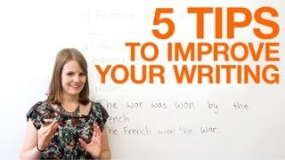 Download 5 tips to improve your writing Video