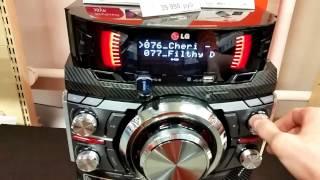 Download LG X-Boom Metal CM9540 Технические характеристики Video