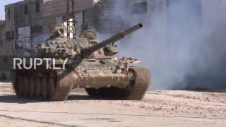 Download Syria: Intensive Syrian Army offensive on eastern Aleppo gains ground Video