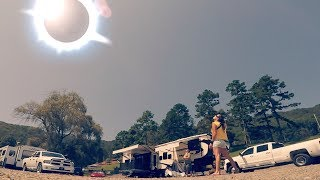 Download TOTAL SOLAR ECLIPSE TIME LAPSE - Hayesville North Carolina Video