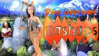 Download Mash Ups: DIY Doll Costume Crafts | Unicorn Horn | Star Wars Jedi | Masks & More Video
