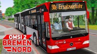 Download OMSI 2: BREMEN NORD #8: SCHIENENERSATZVERKEHR in Bremen   BUS-SIMULATOR Video