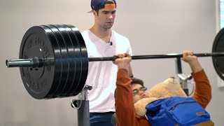 Download When Your Little Brother Lifts Way More Than You... Video
