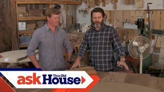Download Touring Nick Offerman's Wood Shop Video