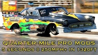 Download Quarter-Mile Pro Mod Racing at Maryland International Raceway Video