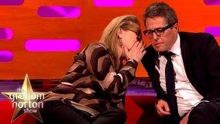 Download Meryl Streep Leaves Hugh Grant Speechless - The Graham Norton Show Video