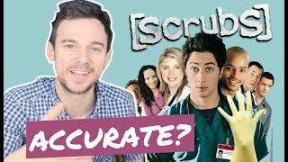Download How accurate is SCRUBS first episode? Real doctor vs JD's first day (REACTION) Video