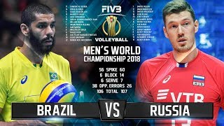 Download Brazil vs. Russia | Highlights | Final 6 Mens World Championship 2018 Video