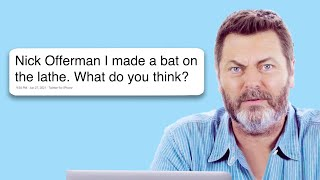 Download Nick Offerman Goes Undercover on Twitter, YouTube, and Reddit | Actually Me | GQ Video