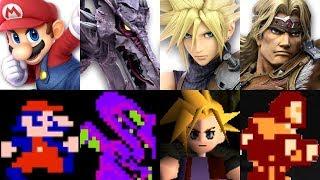 Download Super Smash Bros. Ultimate - Origin of All Characters Video