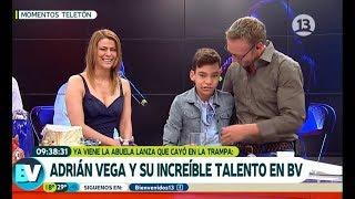 Download Adrián Vega sacó el lado más tierno de Tonka y Martín   Bienvenidos Video