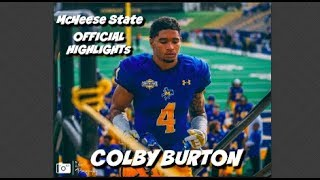 Download Colby Burton #4 - Official McNeese State Highights Video