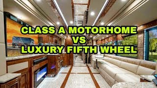 Download Choosing a Motorhome vs Fifth Wheel RV. Watch this first! Video