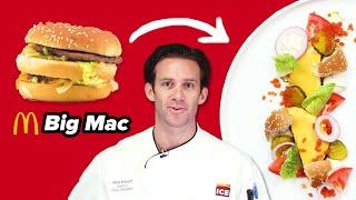 Download Gourmet Chef Makes A Big Mac Super Fancy Video