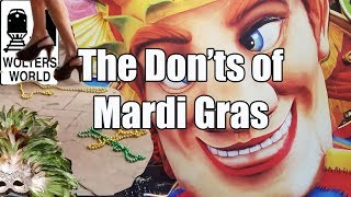 Download Mardi Gras - The Don'ts of Mardi Gras in New Orleans Video