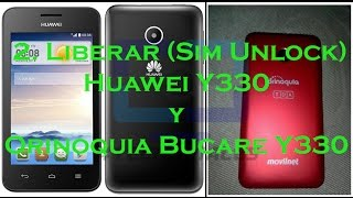 Download Parte 2: Liberar (Sim Unlock) Huawei Y330 y Orinoquia Bucare Y330 Video