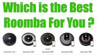 Download 2018 Roomba Models Compared - 980 vs 960 vs 890 vs 690 vs 614 vs 650 - Irobot Robot Vacuum Reviews Video