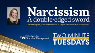 Download Narcissism: A double-edged sword - Two Minute Tuesdays Video