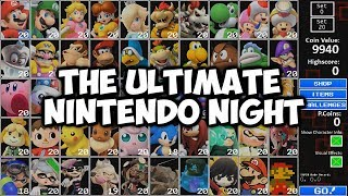 Download MARIO, LUIGI, YOSHI, PRINCESS, THEY'RE ALL HERE | THE ULTIMATE NINTENDO NIGHT - ALL STAR CHALLENGE Video