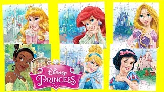 Download Disney Princess and their Castles Jigsaw Puzzle Games for kids Video