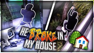 Download Homeless man Breaks into my House.. (Live footage) Video