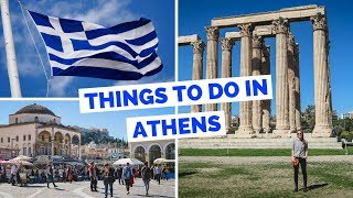 Download 15 Things to do in Athens, Greece Travel Guide Video
