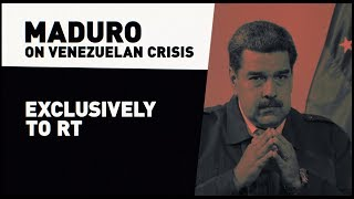 Download 'I won't be remembered as a traitor': Maduro to RT (EXCLUSIVE) Video
