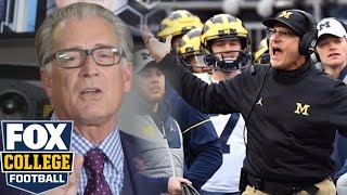 Download Mike Pereira rips Jim Harbaugh for officiating tirade after Ohio State game Video