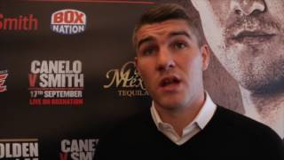 Download LIAM SMITH VOWS TO STOP CANELO , SLAMS NEGATIVE PRESS & SAYS BROOK HAS 'THE HARDER FIGHT' v GOLOVKIN Video