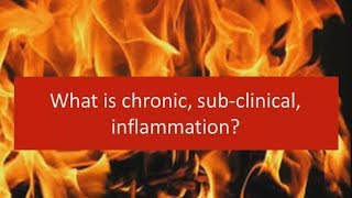 Download What is chronic sub-clinical inflammation? Video