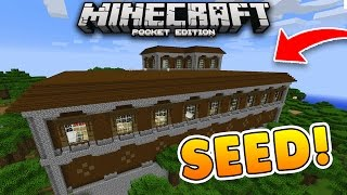 Download WOODLAND MANSION at SPAWN Seed!! Minecraft PE! (Pocket Edition) Video