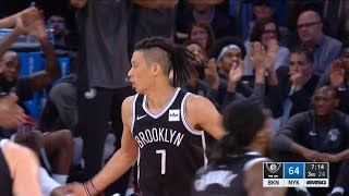 Download Jeremy Lin D'Angelo Russell Highlights - 10/3/17 Nets at Knicks Video