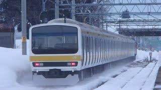 Download 上越線 EF81-136牽引209系C516編成配給輸送 五日町駅通過 Video