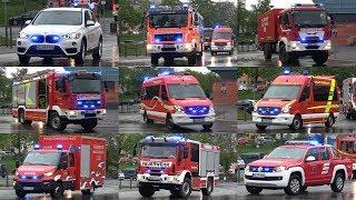 Download 🚨 [39 Einsatzfahrzeuge] Marschübung Hilfeleistungskontigent Landkreis Hof Video