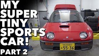 Download 1992 Autozam AZ-1 My Super Tiny Sports Car! Part 2 Video