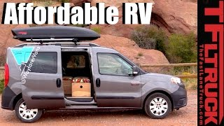 Download Ram ProMaster City Prefab RV Kit: A New Take of the VW Westfalia DIY Camper Video