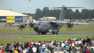 Download Airbus A400M Atlas amazing takeoff capabilities!!! Video