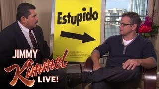 Download Guillermo Crashes Matt Damon Interview Video