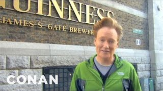 Download Conan Visits The Dublin Guinness Brewery - CONAN on TBS Video