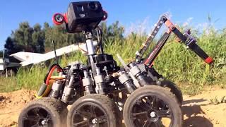 Download Rover robot MOON ONE (((Cheburashka))) Video